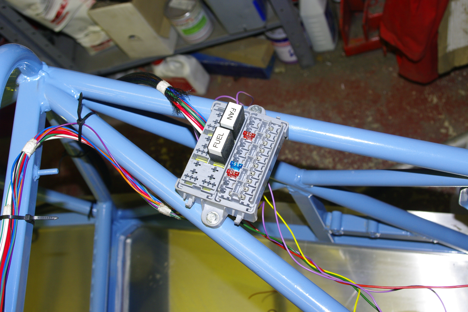 Rgb Racer Motor Racing For Mere Mortals In 750 Club Further Capping Casing And Wiring Also Denso Tape On Fax Cable So